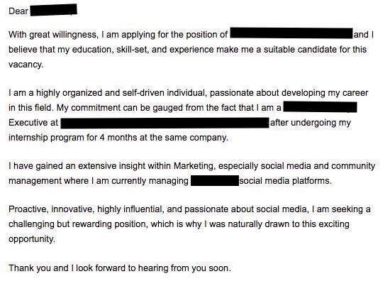 u0026quot jangan hantar email kosong  u0026 resume je u0026quot  perkongsian