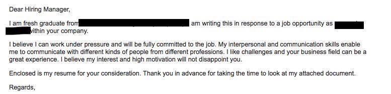 Jangan Hantar Email Kosong Resume Je Perkongsian Contoh Email