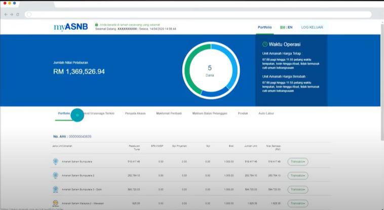 Ini Cara Pengeluaran Duit Asb Secara Online Melalui Myasnb Hingga Rm500 Sebulan